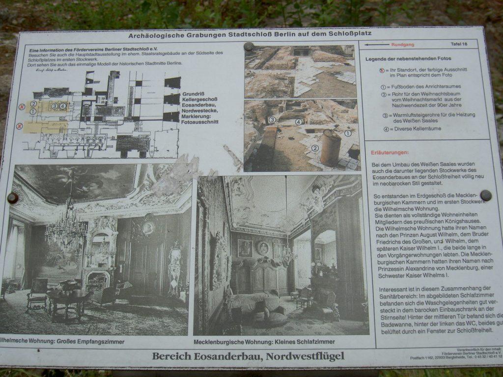 Schlossruine Unter Freiem Himmel Barazani Berlin